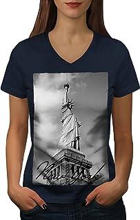 ville Active Sports Shirt Wellcoda paysage photo New York Homme Tank Top