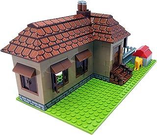 Briques de construction Maison, Bungalow, 293 briques de construction