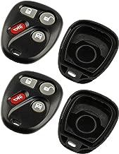 Key Fob Keyless Entry Remote Shell Case & Pad fits Chevy 2003-2007 Express / GMC 2003-2007 Savana