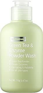 [BY WISHTREND] Green Tea Enzyme Powder Wash, cleanser, exfoliate, 70g, 2.47oz
