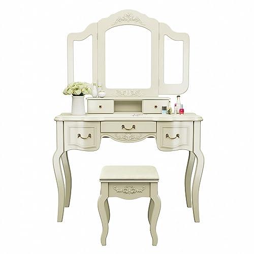 Vintage Vanity Table: Amazon.com