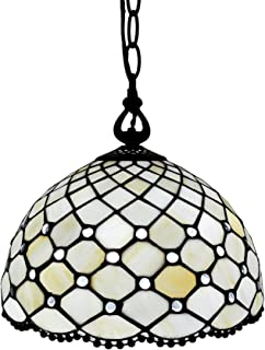 Best stained glass hanging light Reviews