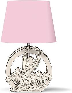 Lampada bimba BALLERINA personalizzabile con nome - Idea regalo nascita, battesimo, primo compleanno, regalo tema danza, I...