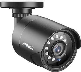 ANNKE Cámara de seguridad 1080P Bala AHD/TVI/CVI/CVBS 4-en-1 Cámara de Vigilancia Analógica IP66 Impermeable Uso Interior y Exterior Visión Nocturna 66Pies de Transparente IR