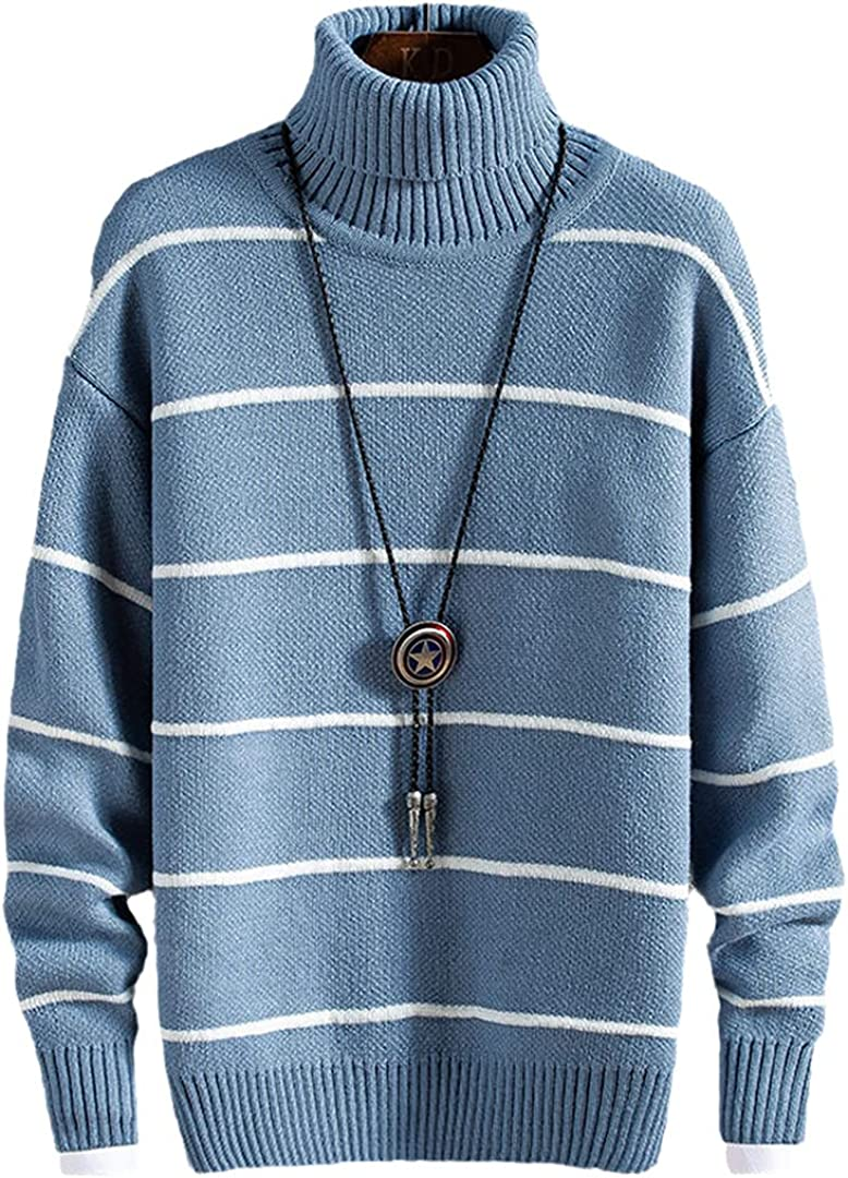 HONSILLENGS Men's store Ranking TOP7 Knittwear Winter Thick Sweater Warm Knit Fashi