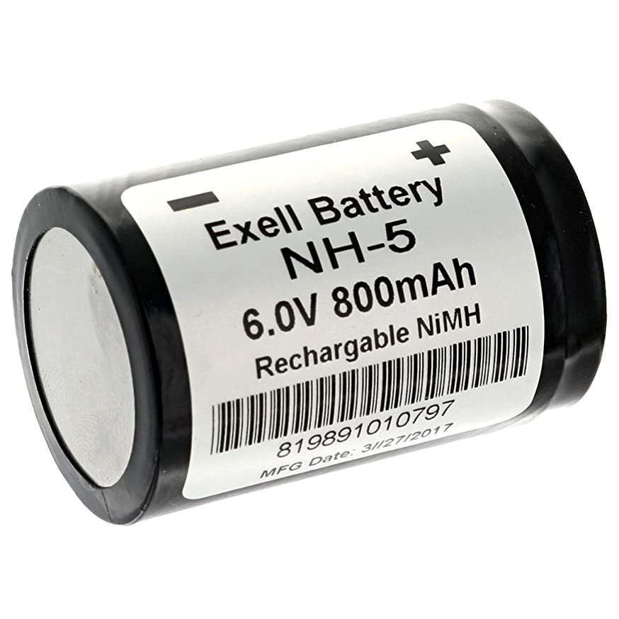 Exell NH5 6V NiMH Rechargeable Battery for Hasselblad 500 EL