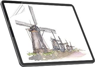 NIMASO PETペーパー フィルム iPad Pro 12.9 (2021 / 2020 / 2018) 用 紙ライク 保護 フィルム 上質紙タイプ アンチグレア
