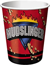 8-Count 9-Ounce Hot/Cold Beverage Cups, Mudslinger