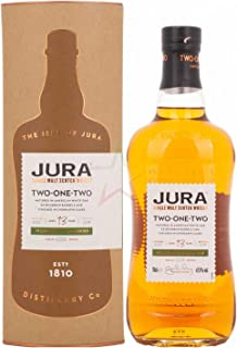 Isle of Jura 13 Years Old TWO ONE TWO Single Malt Scotch Whisky 1 x 0.7 l