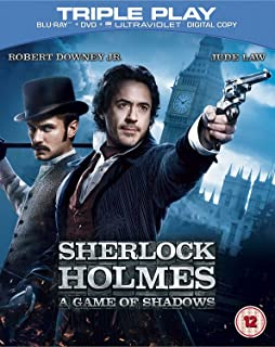 Sherlock Holmes 2: A Game of Shadows | Blu-ray + DVD