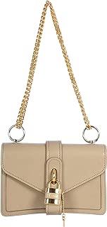 Luxury Fashion | Chloé Womens CHC19WS206B7223WMOTTYGREY Beige Shoulder Bag | Fall Winter 19