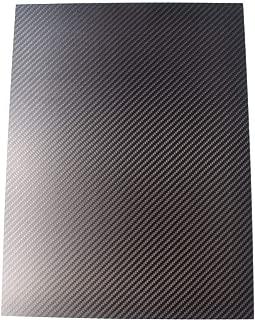 cncarbonfiber 4.0mm 200x300mm 100% Carbon Fiber Sheet Laminate Plate Panel 3K Twill Matte Finish