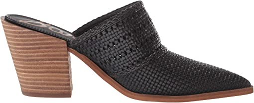 Black Bengal Woven Leather
