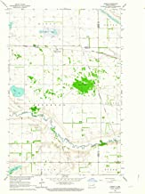 YellowMaps Hamar ND topo map, 1:24000 Scale, 7.5 X 7.5 Minute, Historical, 1962, Updated 1964, 27 x 22 in