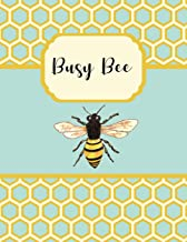 Academic Planner 2019-2020: Busy Bee Large Organizer For Weekly, Monthly, Yearly Scheduling From July 2019 - June 2020.