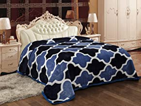 Signature Elanza Double Bed Light Weight Flannel Blanket