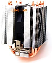 LONG TAO Dual Tower Heat-Sink CPU Cooler with 4 Direct Contact Heatpipes