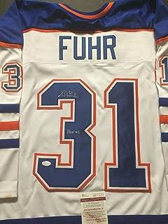 Autographed/Signed Grant Fuhr