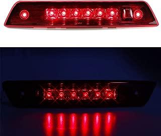for 2005-2010 Jeep Grand Cherokee 3rd Third High Mount Brake Light LED Stop Lamp (Red Lens)