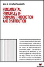 Book cover of Fundamental Principles of Communist Production and Distribution