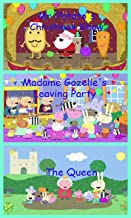 Storybook Collection: Mr. Potato's Christmas Show, Madame Gazelle's Leaving Party and The Queen - Great Picture Book For Kids