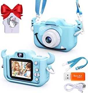 Upgrade Kids Selfie Camera, Christmas Birthday Gifts for Boys Age 3-9, 20MP 1080P HD Digital Video Cameras for Toddler, Po...