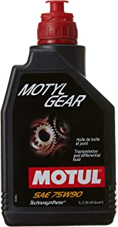 Motul Motylgear 75W-90 Technosynthese Differential Lubricant (1 L)