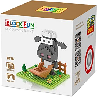 LOZUSA Cartoon Character 250 PCS Diamond Block Mini Figure Hero Micro Blocks Construction Model, Micro-Sized Building Set Parent-Child Games Building Blocks Children's Educational Toys