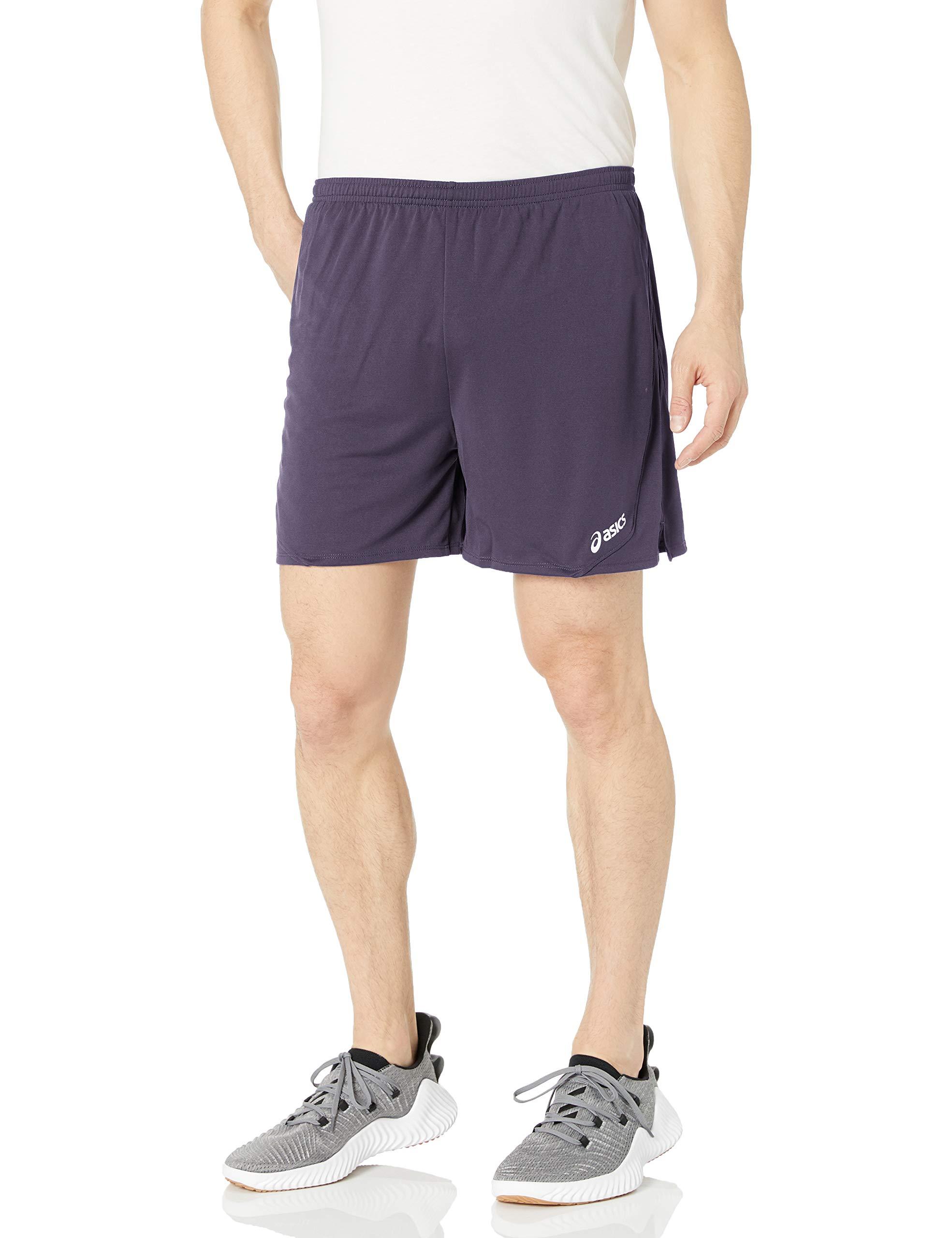 ASICS Rival Shorts Steel Large