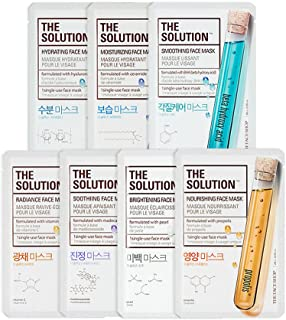 The Face Shop The Solution Bestseller Combo Face Mask (Pack of 7 x 20g)