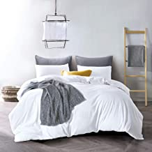 Best white washed linen duvet cover Reviews