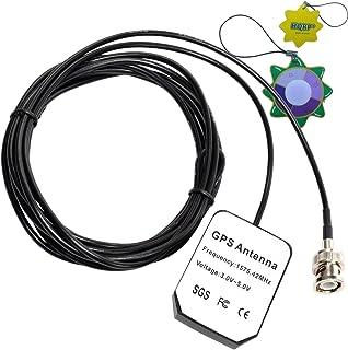 HQRP Antena Externa GPS para Garmin GPSMAP 176 / 176C / 178C Sounder / 180/182 / 182C / 185 Soundeur + HQRP medidor del Sol