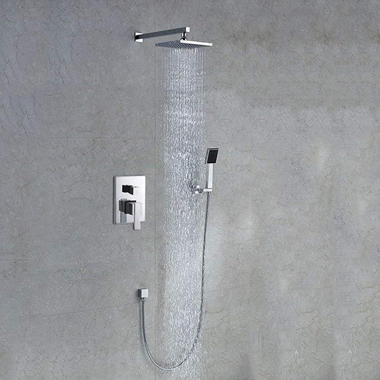 Cxmm Unterputz-Duschkopf für Badezimmer Duschset All-Copper Luxury Accessories