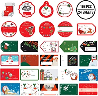 Best santa tags for presents Reviews