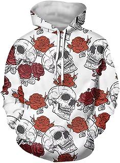 AFPANQZ Sweaters Men Hooded Pullover Hoodie Sweatshirt Front Pocket Long Sleeve