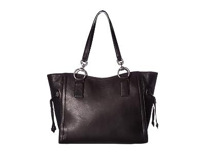 Frye Ilana Tote (Black) Tote Handbags