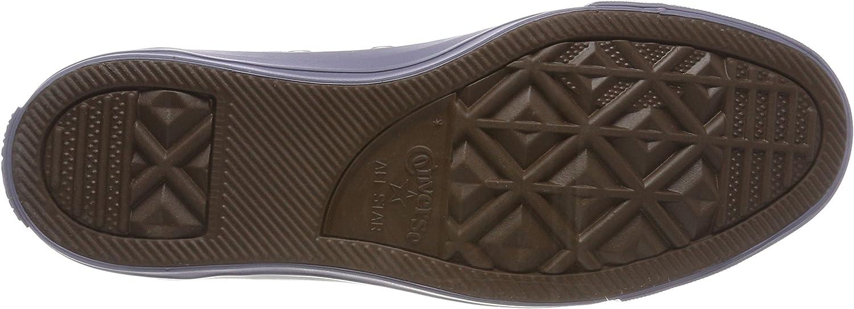 Converse Chuck Taylor CTAS Ox Canvas, Zapatillas de Deporte para Mujer Azul Light Carbon Light Carbon Gold 534
