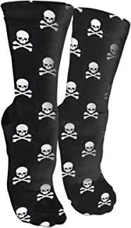 Crew Socks Calf Socks Native American Indian Horses Cotton Athletic Cute Casual Breathable Thick for Men Crew Sock