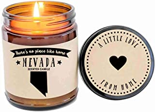 Nevada Scented Candle State Candle Gift No Place Like Home Thinking of You Holiday Gift Christmas Gift