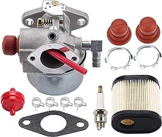 BIlinli 640350 640271 640303 Carburador para Tecumseh LEV100 LEV105 LEV120 LV195EA LV195XA Toro 20016 20017 20018 6.75HP Recycler Cortacésped con Filtro de Aire