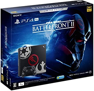 PlayStation4 Pro Star Wars Battlefront II Limited Edition PS4 本体 スターウォーズ バトルフロント2