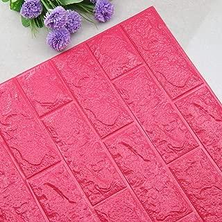 DIY 3D Brick PE Foam Wallpaper Panels Room Decal Stone Decoration Embossed (J)