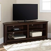 Amazon Com Corner Tv Stand For 55 Inch Tv