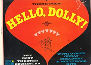 [LP Record] Theme From Hello, Dolly - The Roxy Theater Orchestra