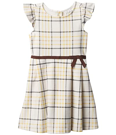 Janie and Jack Plaid Ponte Dress (Toddler/Little Kids/Big Kids) (Multi) Girl