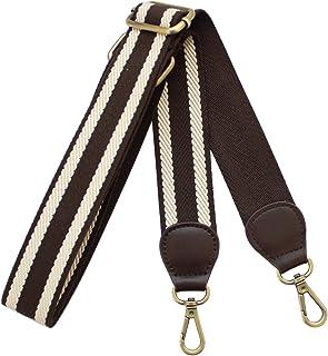 Neuleben Schulterriemen Schultergurt Längenverstellbar 88-134cm breiter Taschengurt Tragegurt für Taschen Dunkelbraun