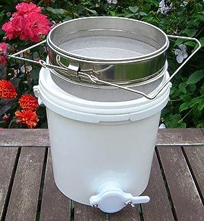 OBLLER 20 Liter Honigschleuder Hobbock Honig Bucket Filter FÜR Imkerei Honigeimer