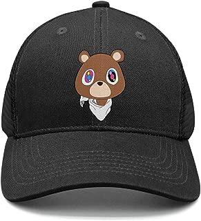 Unisex Kanye-West-Graduation-Teddy-Bear- Baseball Cap Adjustable Truck Driver Hats