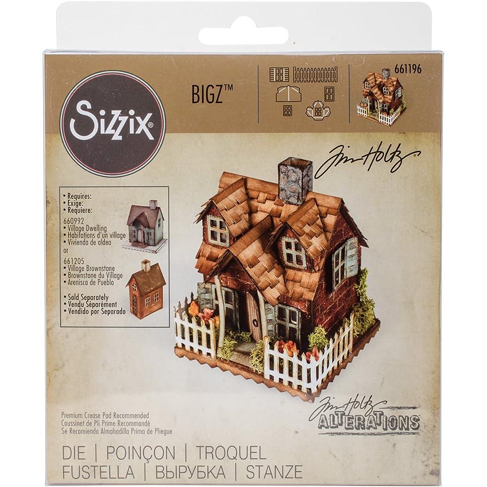 Sizzix Bigz Die, Village Bungalow by Tim Holtz