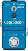 Stax Looper Guitar Pedal Loop Station Unlimited Overdubs 10 Minutes of Looping, 1/2 time, and Reverse, built-in 8G SD Card...